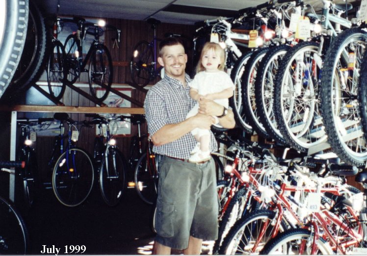 with Alana - summer 1999