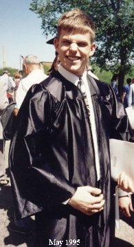 UW-Madison graduation 1995