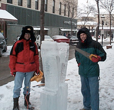 ice sculpting